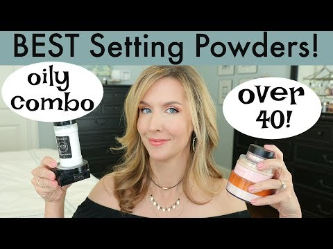 BEST Setting Powders for MATURE and OILY SKIN | OVER 40