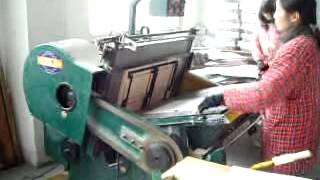 KMHK-1050 Automatic Die Cutting Machine | Automatic Die Cutter