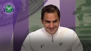 roger federer wimbledon 2017 fourth round press conference