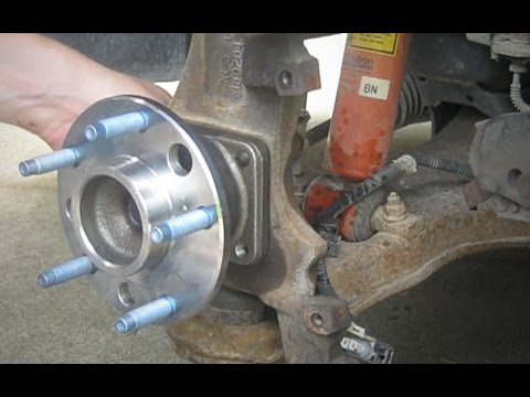How to replace a wheel bearing - 1993 - 2002 4th Gen Camaro Firebird