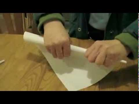How To Make Paper Cotton Candy Cones