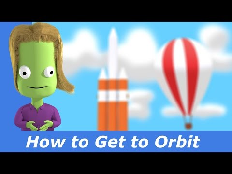 How to reach orbit in KSP | Basic Tutorial