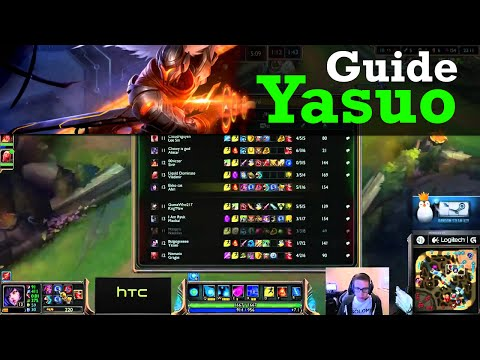 guide yasuo s5 -  Ahri vs Yasuo - Mid - June 12th, 2015