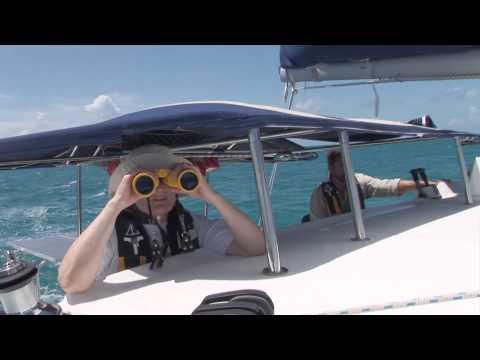 Catamaran Sailing in the British Virgin Islands (BVI) - Virgin Gorda to Anegada on a Lagoon 380