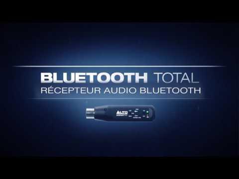 Alto Professional - le récepteur audio : Bluetooth Total (vidéo de la boite noire)