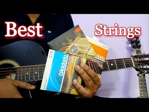 Best Acoustic Guitar Strings - Complete Guide In Hindi