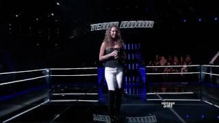 Alessandra Castronova Vs Joe Kirk  Stay  The Battle  The Voice 2014