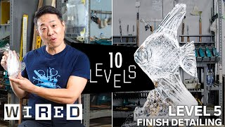 10 Levels of Ice Sculpture: Easy to Complex   WIRED