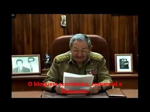 Pronunciamento do presidente Raúl Castro sobre relações de Cuba com os EUA