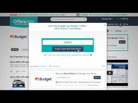 Budget Rent A Car Coupon Code 2014 -Saving Money with Offers.com