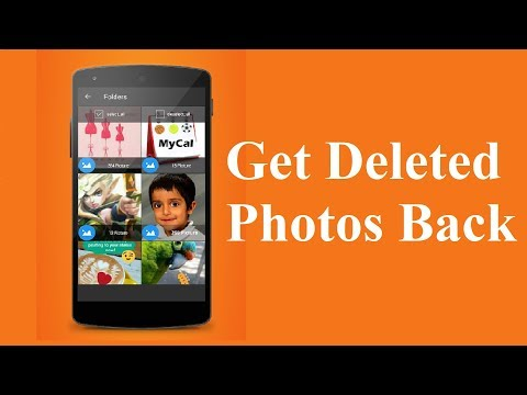 How to Get Deleted Photos Back on Android phones!