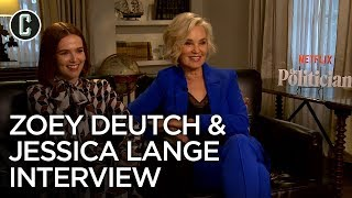 The Politician: Jessica Lange and Zoey Deutch on the New Ryan Murphy Netflix Series