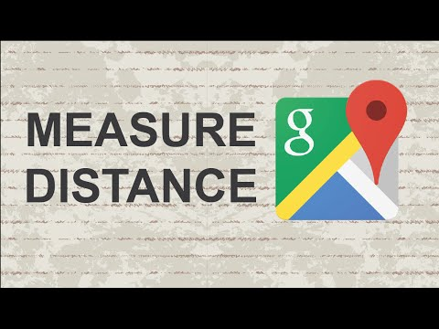 How to measure distance on Google Maps
