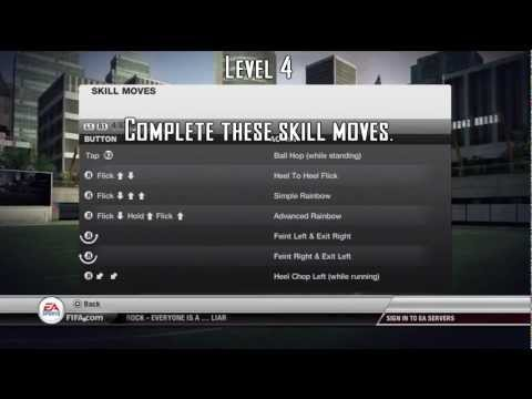 FIFA 12 // Virtual Pro 5 Star Skills Tutorial