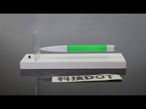 How to Make Magnetic Levitation pen DIY Magnetic Levitation Pen Holder 自制磁悬浮笔 创意手工漂浮笔架