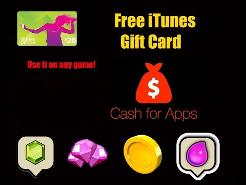 Get iTunes Gift Card For Free (Gems, Diamonds, Coins, Bucks etc.) | Get Cash For Apps