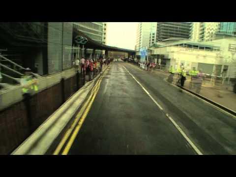 The Virgin London Marathon Route in 5 minutes