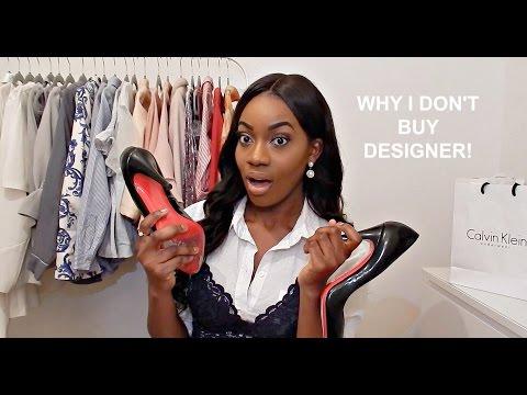 Why I Don't Buy Designer Things   Jade Vanriel