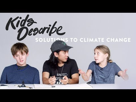 Kids Describe Solutions to Global Warming | Kids Describe | HiHo Kids
