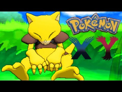 How to catch Abra in Pokémon X/Y
