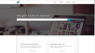 """Projekt - """"HowTo Kirche online"""" #glaubengemeinsam"""