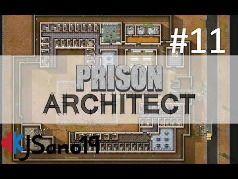 Prison Architect - Episode 11 - Start Working Inmates!