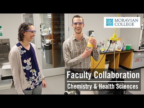 Faculty Collaboration: Chemistry & Health Sciences
