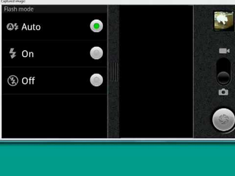 Change camera settings on your Android phone