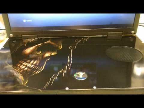 xbox laptop death theme  sold.