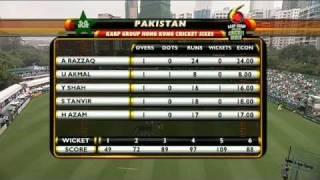 Pakistan v India  - Karp Group Hong Kong Cricket Sixes 2011 (Full HD)