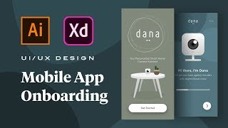How to Design an Animated Mobile App Onboarding Flow in Adobe XD (Tutorial)