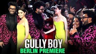 Gully Boy WORLD PREMIERE In Berlin | Berlinale 2019 INSIDE VIDEOS