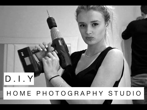 Home Photography Studio | DIY | CharMaslin