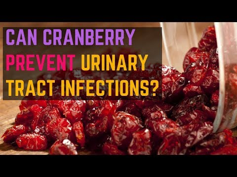 Can Cranberry PREVENT Urinary Tract Infections?  | UTI Natural Treatments