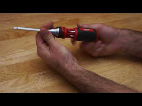 Milwaukee ratcheting screwdriver review