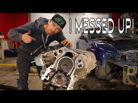 Budget Turbo LS Build - Part 18 - I MESSED UP!