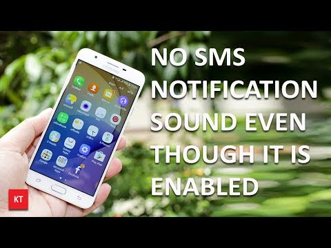 No text message notification sound even though it is enabled (For android)