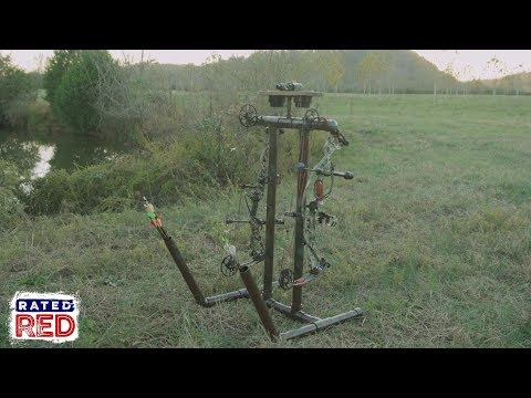 How to Make a PVC Bow Caddy