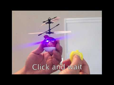 Flying Bird toy Infrared RC Remote Control Helicopter Flying Toy flying Red bird instruction