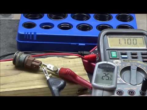 How to test a ECT (Engine Coolant Temperature) Sensor's