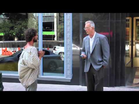 Homeless Man Experiment