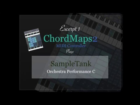 ChordMaps2 - Midi Controller for iPad - Demonstration