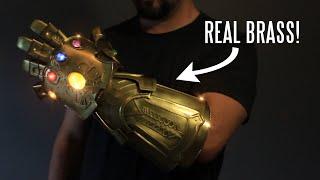 Download WATCH: Real metal Infinity Gauntlet (that snaps!) Video