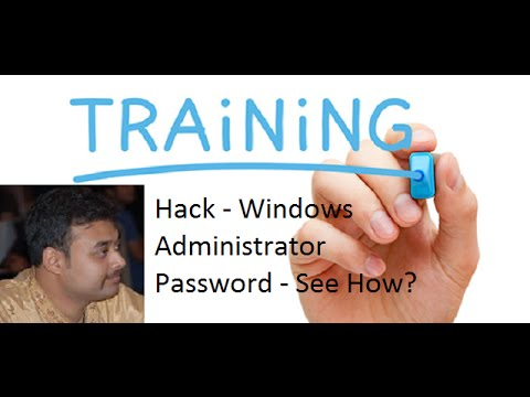 How To Bypass Hack A Windows 7 Administrator Account CMD