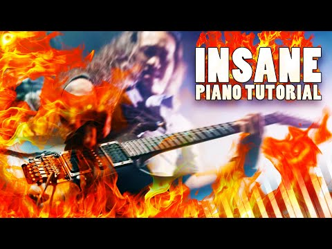 Xxx Mp4 Dragonforce Through The Fire And Flames Solo Version Piano Tutorial 3gp Sex