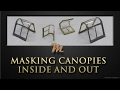 How to create canopy masks for the inside and outside. Plastic scale modelling tutorial