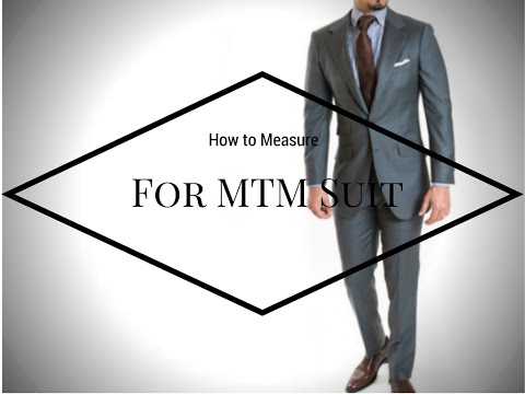 How to Properly Measure For a Custom Suit (and get the best fit!)