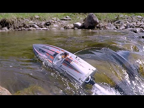 ProBoat JetBoat river surf and crawl Scale Town - RC CWR