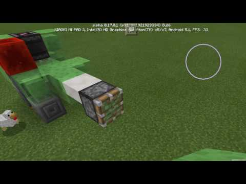 How to make a working train in mcpe!!!!!!