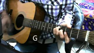 3 Romantic songs For ur VALENTINE - Guitar Cover Lesson Chords Bollywood Romantic Songs Mashup